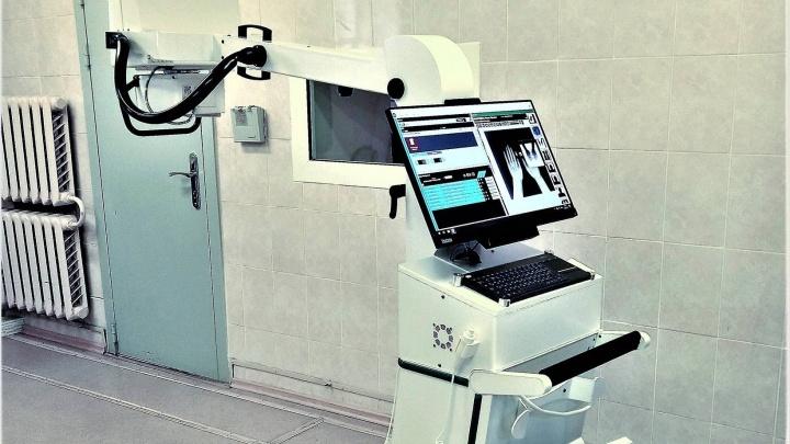 Рентген можно делать прямо в палате: в Котласскую больницу привезли новое оборудование