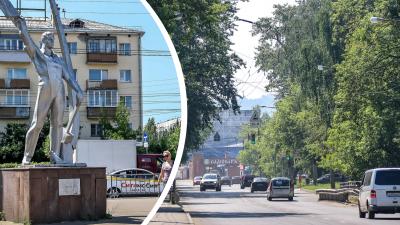 История одной улицы: гуляем по живописной улице Космонавта Комарова