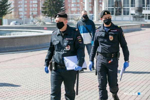 Полиция проверит, кто носит маски, а кто нет