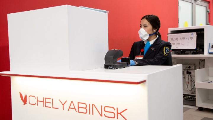 В аэропорту Челябинска из-за пандемии коронавируса снизился трафик авиаперевозок