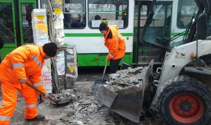 Мэрия готова потратить 842 миллиона на уборку и чистку дорог