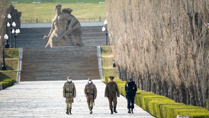 В Волгограде Мамаев курган закрыли на День Победы
