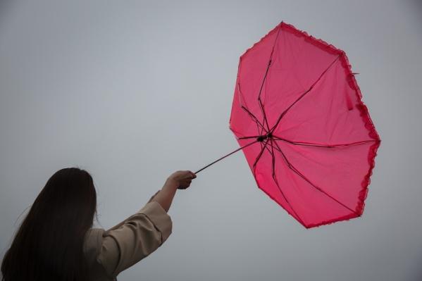 Вторник будет сильно отличаться от теплого понедельника— холод, дождь, сильный ветер