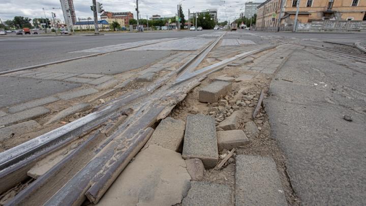 Стало известно, кто и за сколько отремонтирует «зубодробительные» трамвайные переезды в Челябинске