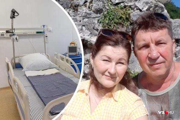 Первыми в большой семье заболели Наталья и Михаил Монаховы