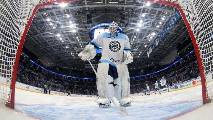Хоккей: «Сибирь» всухую проиграла «Трактору» из Челябинска в выездном матче