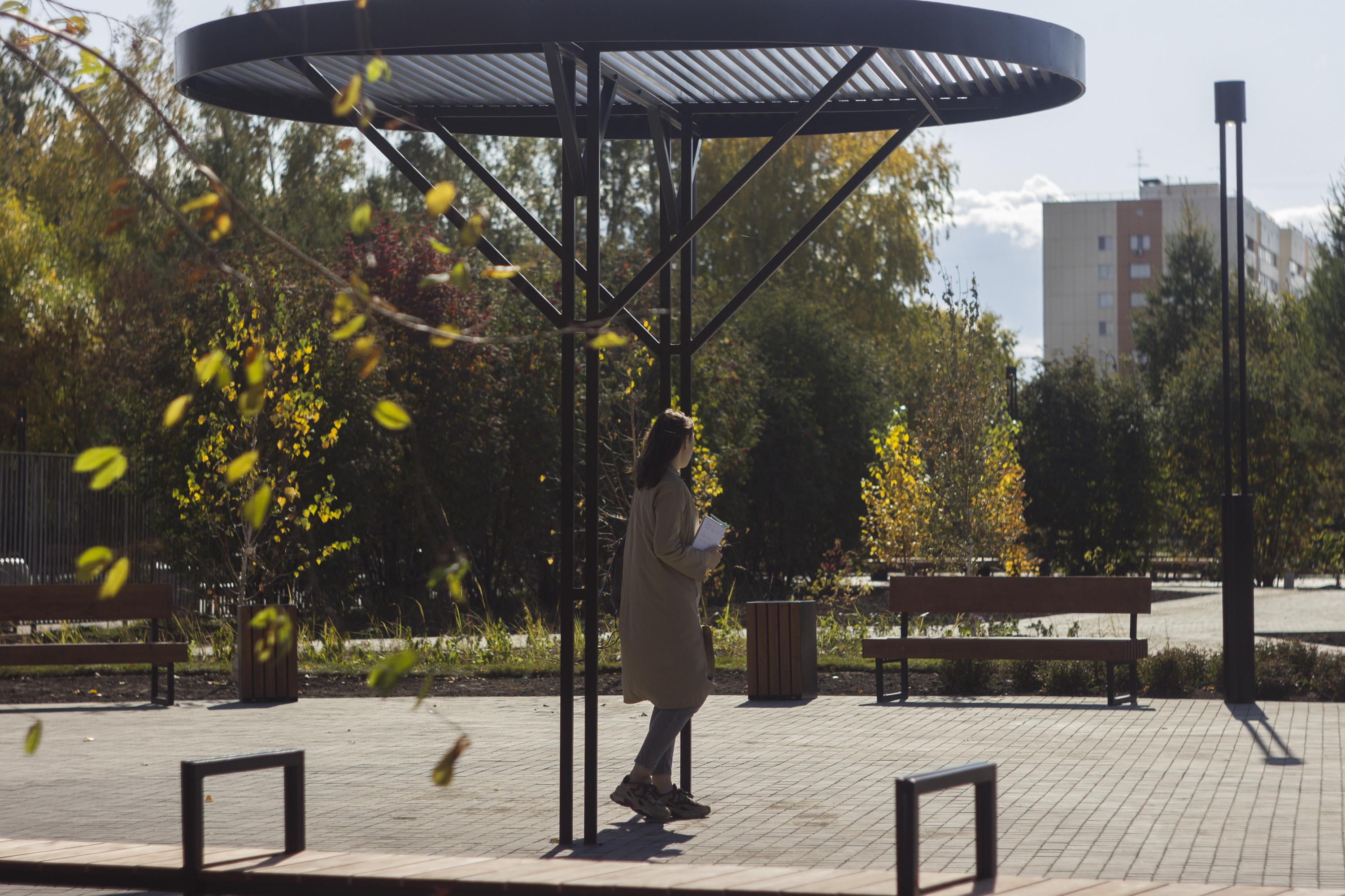 На территории парка появились такие вот арт-объекты