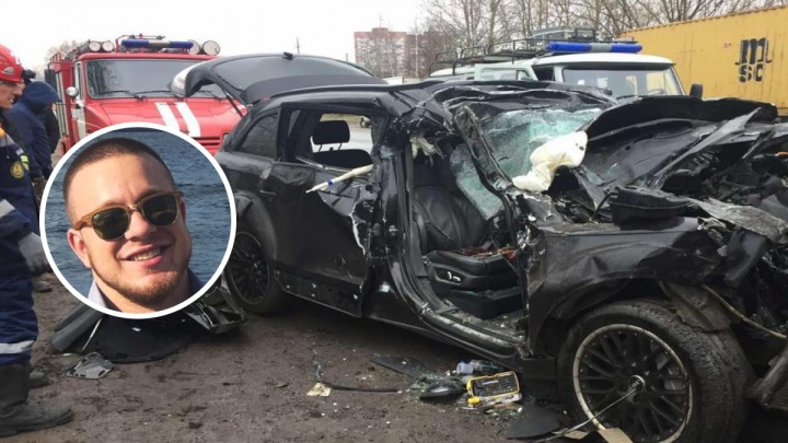 За рулем сидел друг: в ДТП с чёрной Audi погиб молодой спортсмен