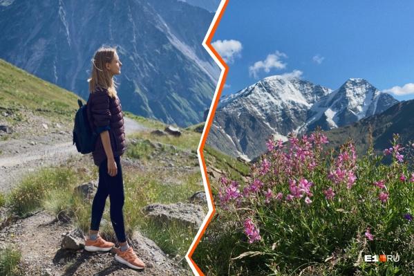 На путешествие по Кавказу у Надежды и ее мужа ушла неделя