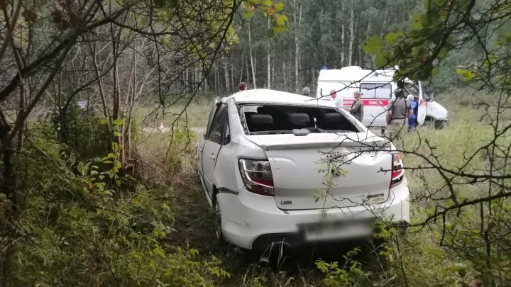 На зауральской трассе в смертельное ДТП попали жители Свердловской области