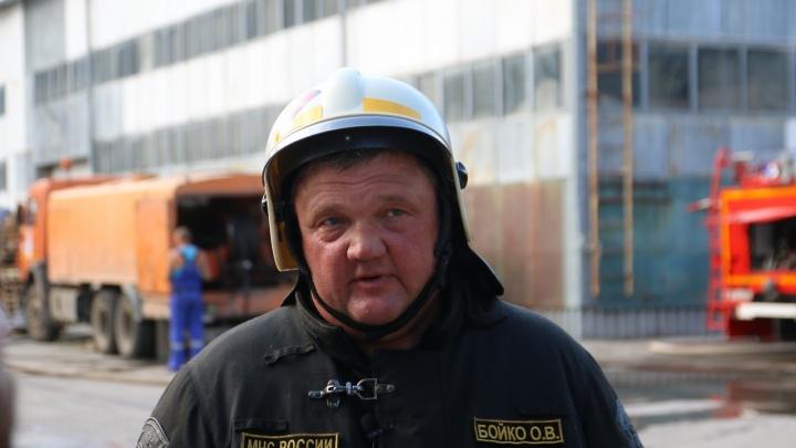 Начальник ГУ МЧС России: «Полную ликвидацию пожара ожидаем к вечеру»