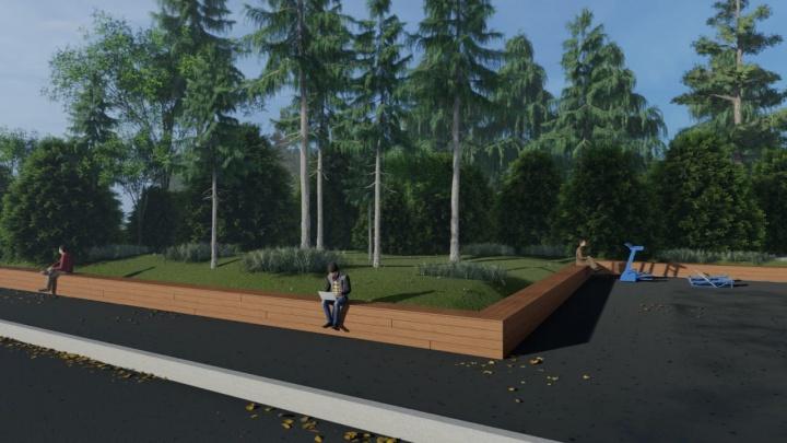 «Пойдём в Книгу рекордов России»: челябинцы монтируют новый арт-объект за памятником Курчатову