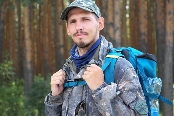 Александр Пластков намерен дойти пешком до Крыма
