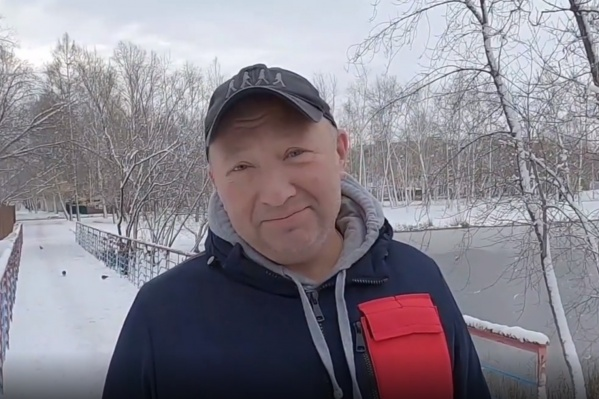 Курганцы поблагодарили Юрия Гальцева за его песню