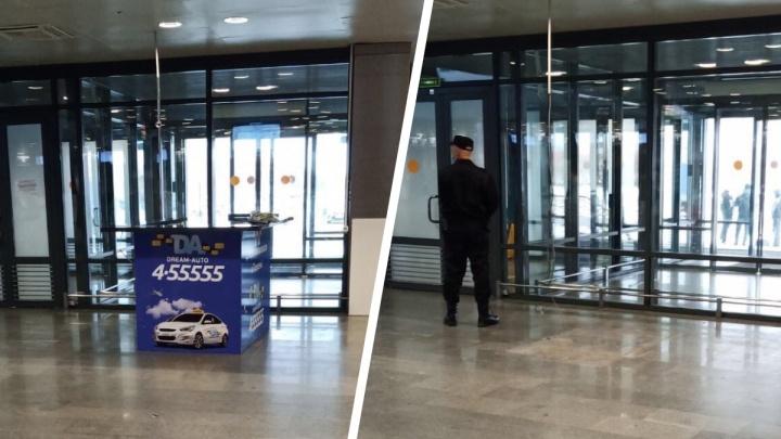Тюменский аэропорт остался без официального перевозчика такси