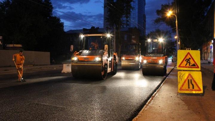 Городские власти назвали срок окончания ремонта на Мичурина