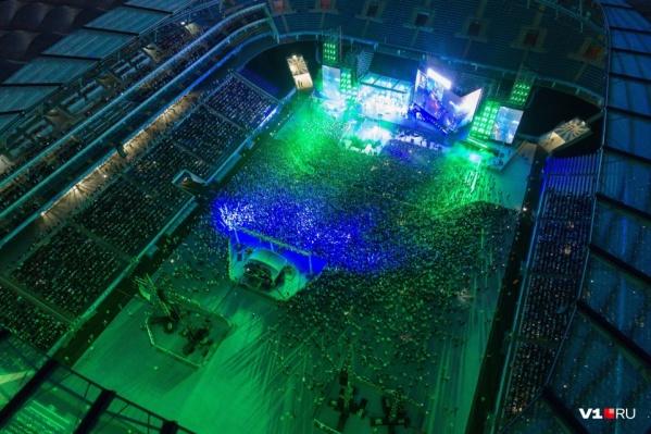 В прошлом году на стадионе выступил «Ленинград»