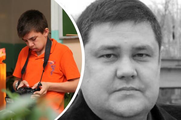 Федоров не верит, что молодой человек (в оранжевой футболке) мог быть исполнителем убийства