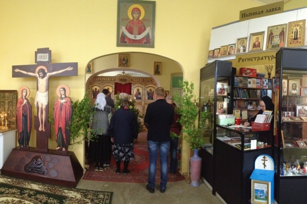 Храм Покрова в селе Булзи сейчас закрыт на карантин