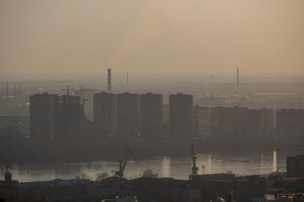 Город будет утопать в пыли на фоне жары и сильного ветра