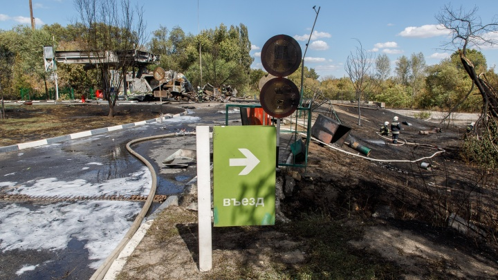 Хроника ЧП на газовой заправке в Волгограде. Коротко