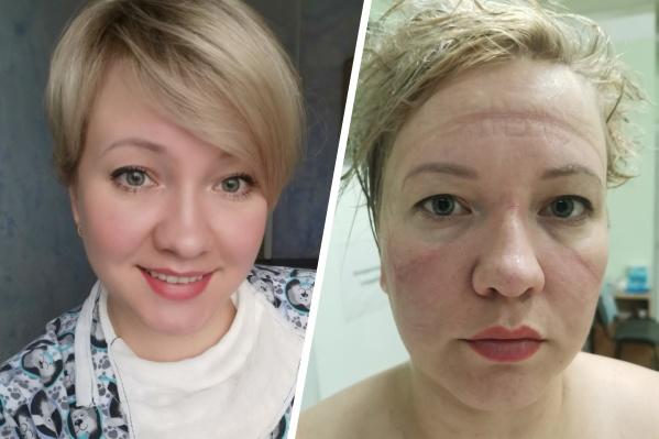 Так выглядит женщина до и после смены