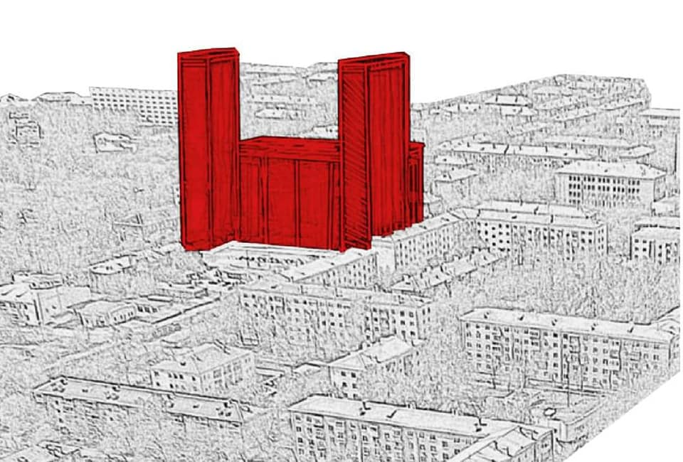 """На Уралмаше могут появиться <nobr class=""""_"""">29-этажные</nobr> жилые высотки. Общественники нарисовали, как они будут выглядеть"""