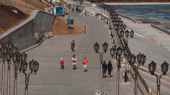 Как долго в Тюмени будет тепло? Публикуем прогноз погоды до конца недели