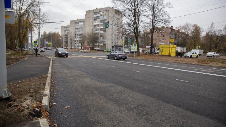 Тутаевское шоссе будут доделывать в следующем году