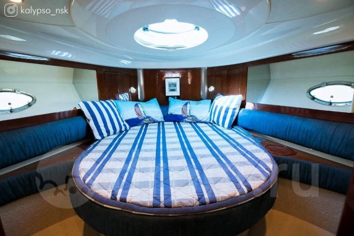 За несколько лет, что яхта стоит на продаже, она не подешевела ни на рубль