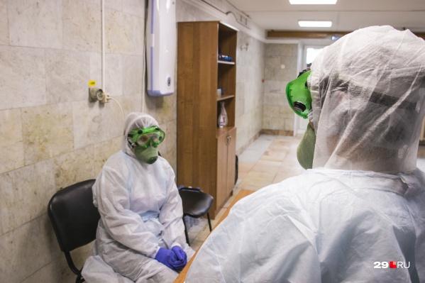 На момент публикации карантинные меры в больнице № 6 введены не были