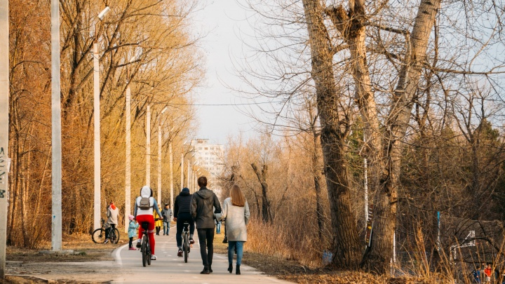 На выходных в Омск придёт по-летнему тёплая погода