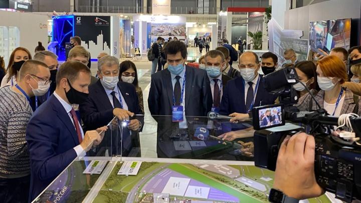 Владимир Городенкер представил двум мэрам Екатеринбурга жилой комплекс с уникальной экосистемой