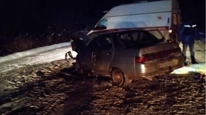 В смертельном ДТП на трассе Шахунья — Киров погибли два человека