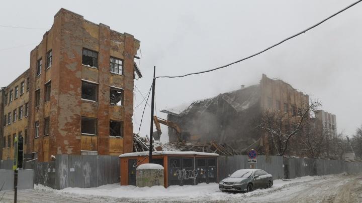 Появились результаты экспертизы об исторической ценности снесенного здания на Нагорной