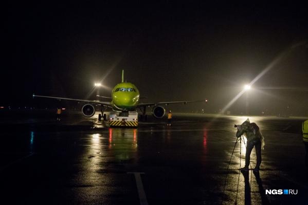 Самолёт приземлился по расписанию