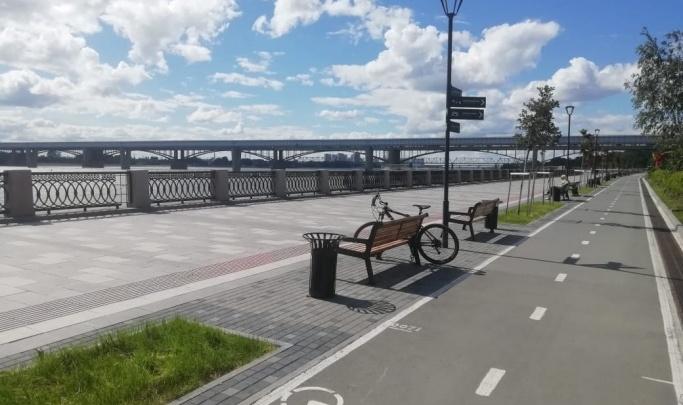 Начался новый этап реконструкции Михайловской набережной — его хотят закончить к осени