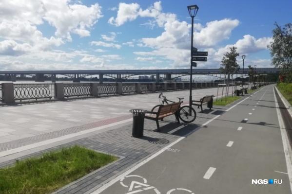 Новый этап реконструкции набережной начался сегодня, 8 июля