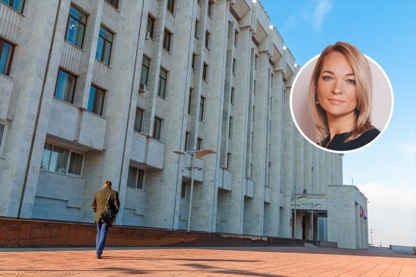 Наталья Катина работает в структурах власти с 2007 года