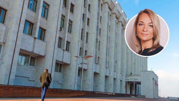 Азаров выбрал женщину на пост зампредседателя правительства Самарской области