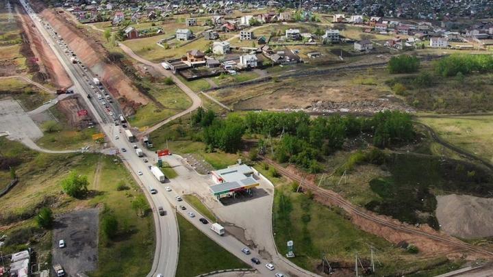 На Северном шоссе снова меняют схему движения из-за ремонта дороги