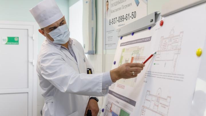 В волгоградских больницах более 5000 человек с коронавирусом и подозрением: смотрим сводку оперштаба