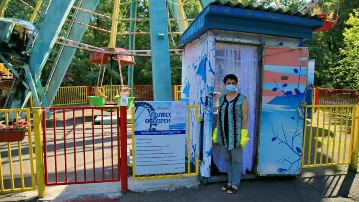 Литры антисептика и раздача масок: по каким правилам будут работать аттракционы в новосибирских парках
