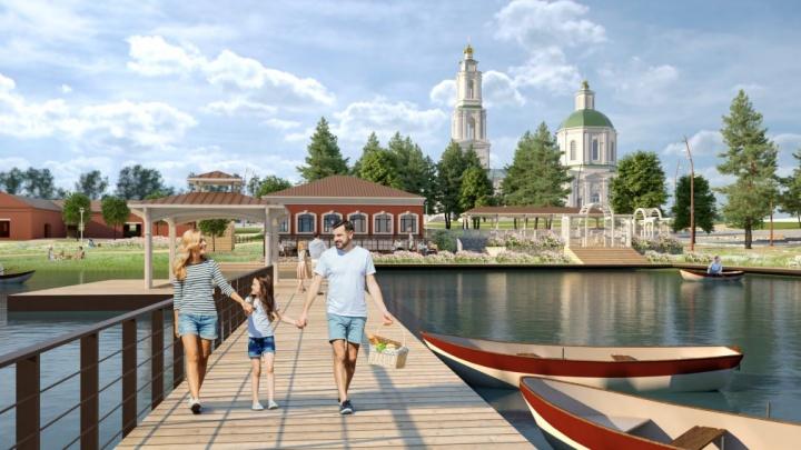 Путин подарил Сысерти 70 миллионов на обустройство набережной, которой позавидует Екатеринбург