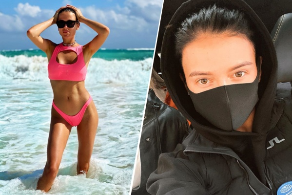 София Никитчук говорит, что коронавирусом могла переболеть после поездки в Мексику