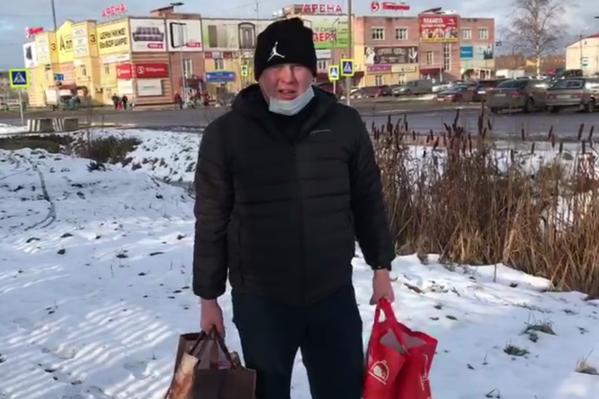 Андрей Бутин с женой за день собрали денег, купили товары для пациентов ковидного госпиталя и передали в больницу