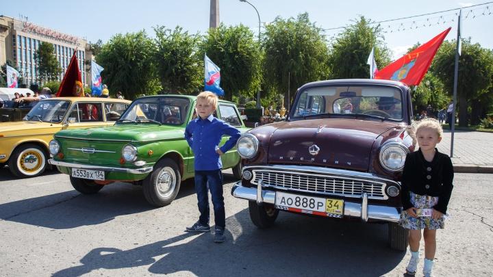 В машинах — только водители: клуб «Моторы Сталинграда» поздравит волгоградских ветеранов автопробегом