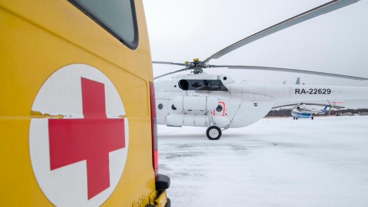 В Ненецком автономном округе погиб человек при крушении вертолета