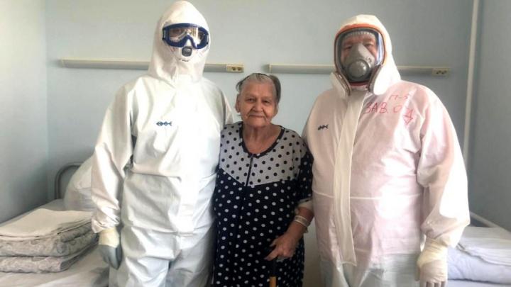 В краевой больнице спасли пожилую пациентку с COVID-19. У женщины тяжелый порок сердца