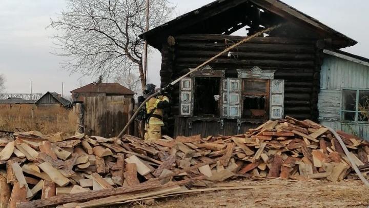 Зауралец погиб по время пожара. Следователи проводят проверку